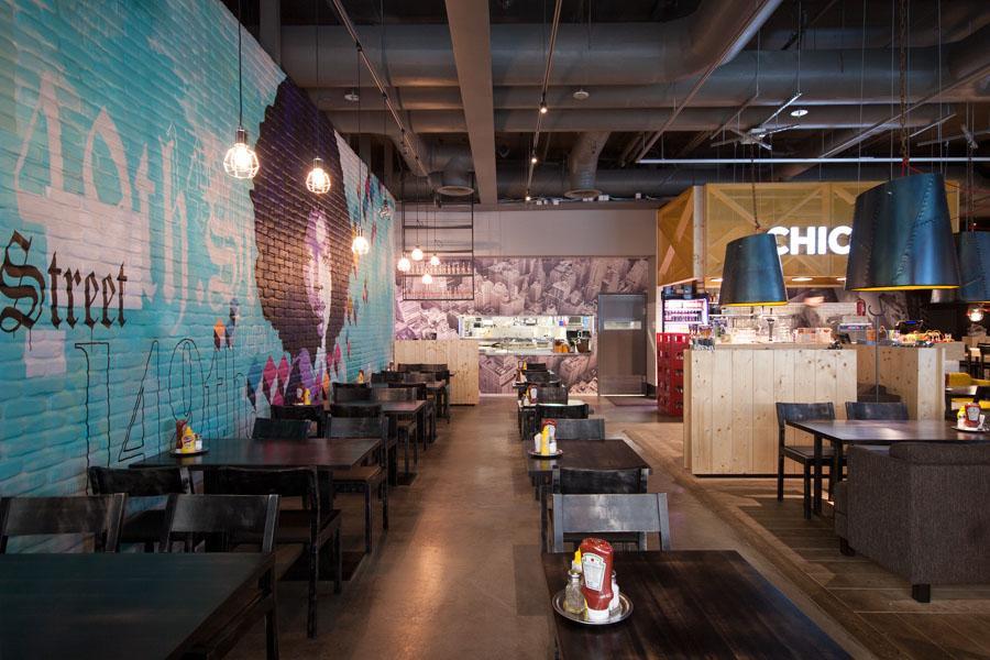 Amerikka Design, Chico's Restaurant, Espoo, Finlandia 2012-2
