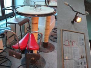 Bicicleta, Concept Bar