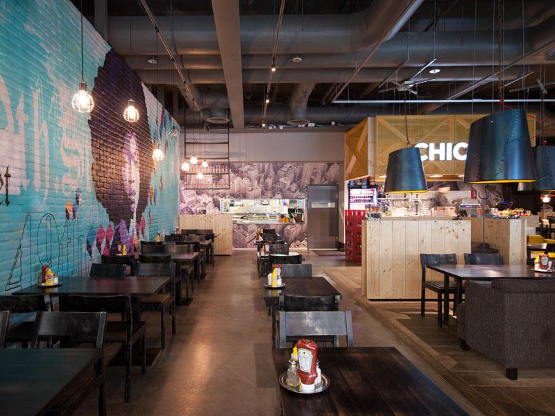 Amerikka Design, Chico's Restaurant,