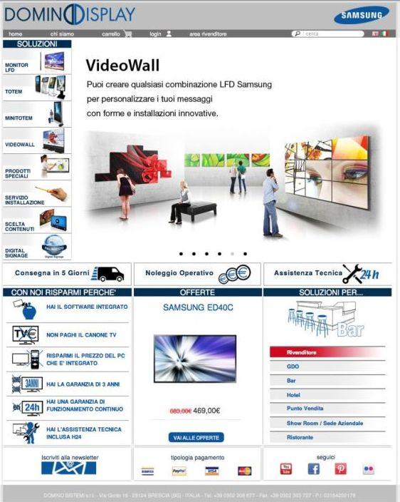 Domino Display Video wall