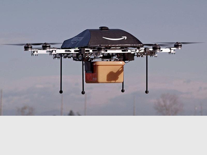 #Droni Amazon