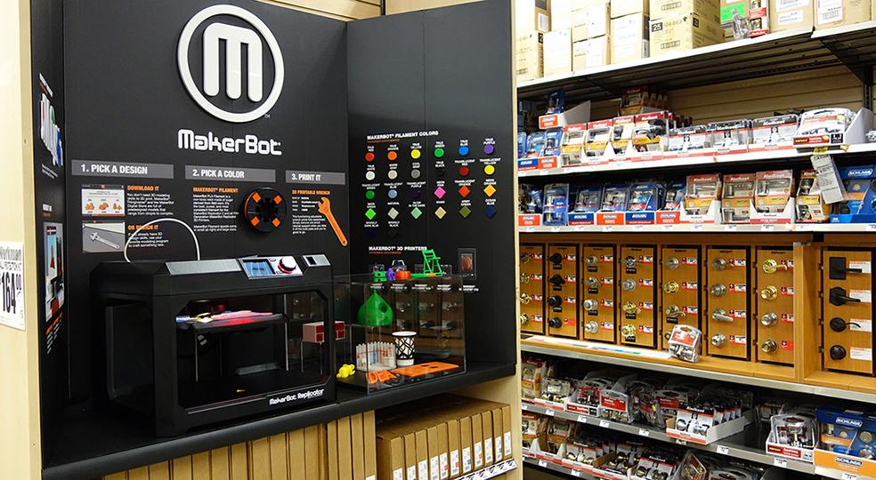 #MakerBot - Printer 3d